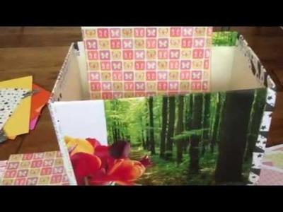 How To Organize Scrapbook Paper by Kerryluvcat