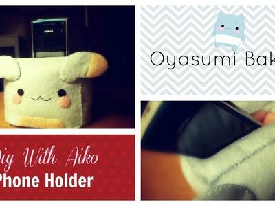 How To Sew A Kawaii Oyasumi Bakura Phone Holder Plush