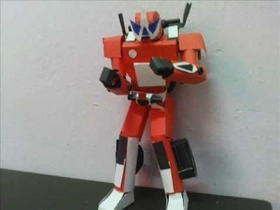 Kamen rider accel papercraft