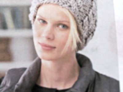 #Knit #Cable Hat using #DPN's (double pointed needles)  Video 2