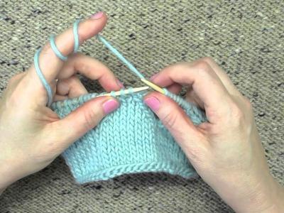 Knitting Technique Central Double Decrease