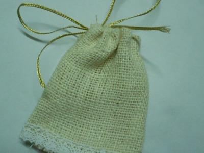 Make a Cute Burlap Favor Bag - DIY Crafts - Guidecentral