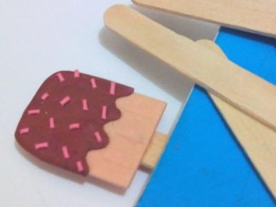Make a Cute Ice Cream Pop Bookmark - DIY Crafts - Guidecentral