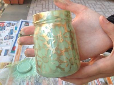Make a Cute Vintage Decor Jar - DIY Home - Guidecentral