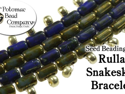 Make a Rulla Snakeskin Bracelet
