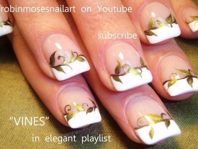 Nail Art for Beginners - DIY Vine Design Tutorial