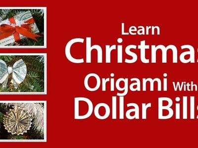Origami Dollar - Learn Origami With Dollar Bills