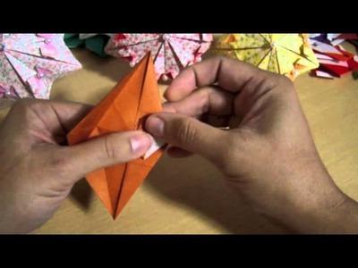 Origami Maniacs 94: Cute Origami Umbrellas