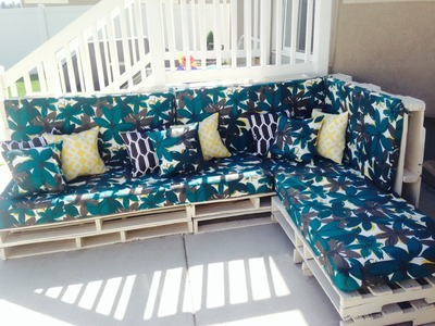 Pallet Furniture Pinterest DIY - WOOD PALLET COUCH - Home design ideas