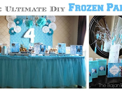 The Ultimate DIY Frozen Party