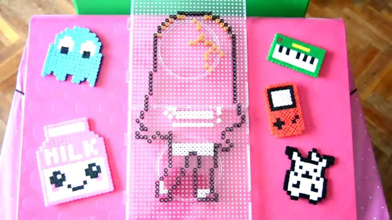 Timelapse of Red Velvet Wendy with Hama Beads.
