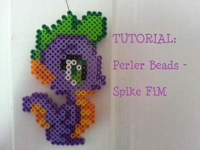 [TUTORIAL] Perler Beads - Spike FiM