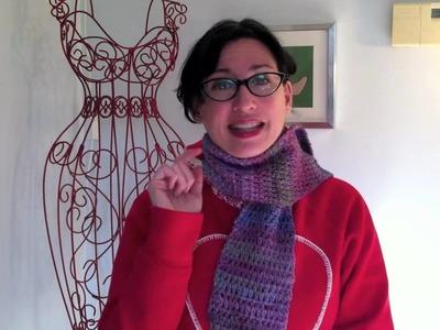 Videoblog 3 - How to Make Extended Half Double Crochet