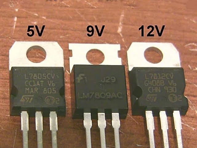 Voltage regulator tutorial & USB gadget charger circuit