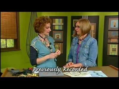 1711-2 Brenda Schweder wraps her way to bracelets on this segment of Beads, Baubles & Jewels