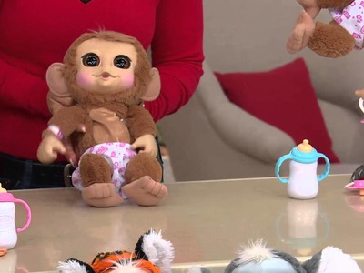 """Animal Babies 14"""" Tumbling Plush w. Sounds & Accessories with Mary Beth Roe"""