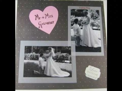 Cricut Projects, Cards, and Before Cricut Scrapbook Pages