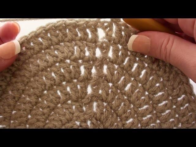 Crochet Beanie Crown - Crochet a Beanie Crown in Double Crochet