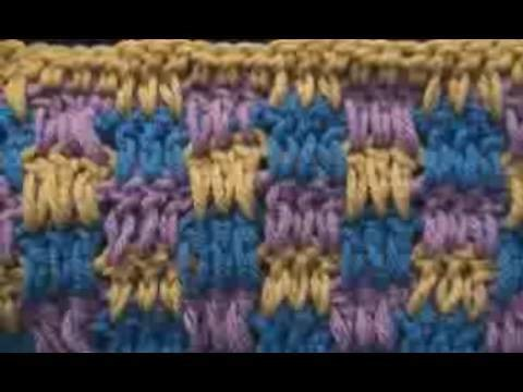 Crochet Boucan Pattern Stitch - Scarf - Afghan - Blanket Crochet Geek