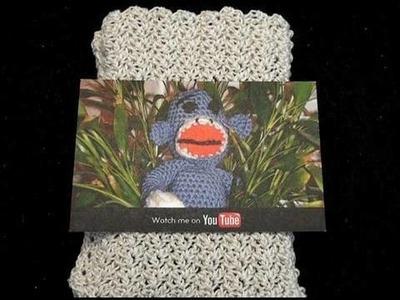 Crochet Business Card Pouch -  Droid - Iphone Crochet Geek