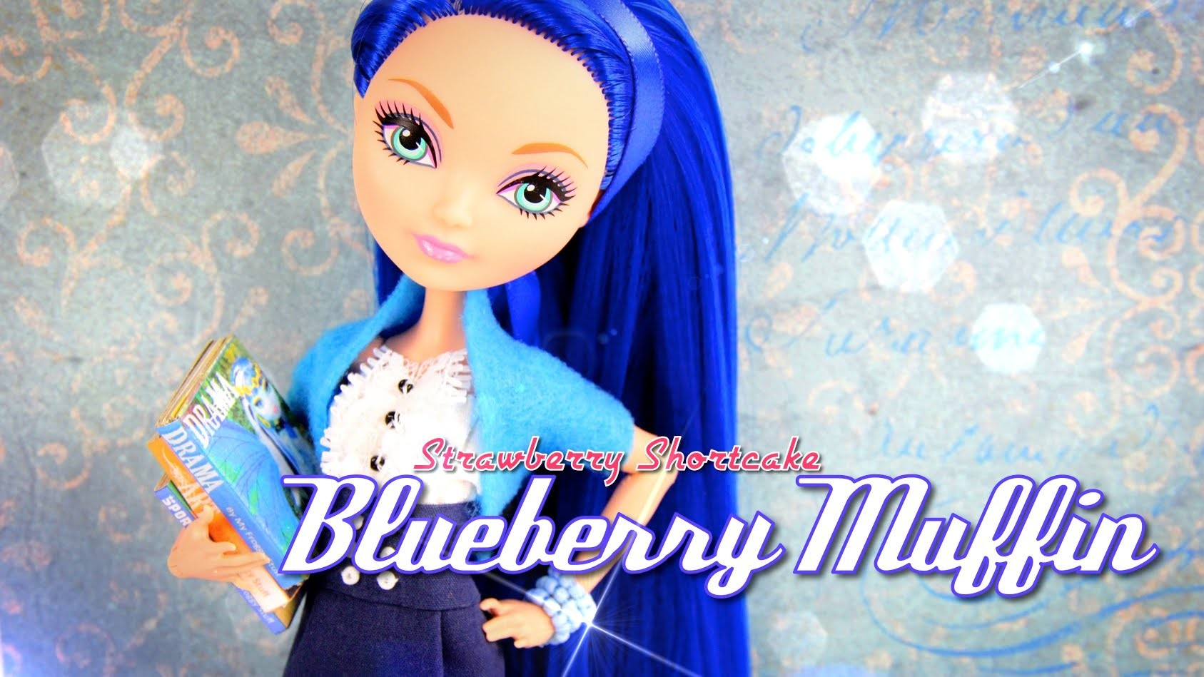 Custom Doll: Strawberry Shortcake Blueberry Muffin - Doll Crafts
