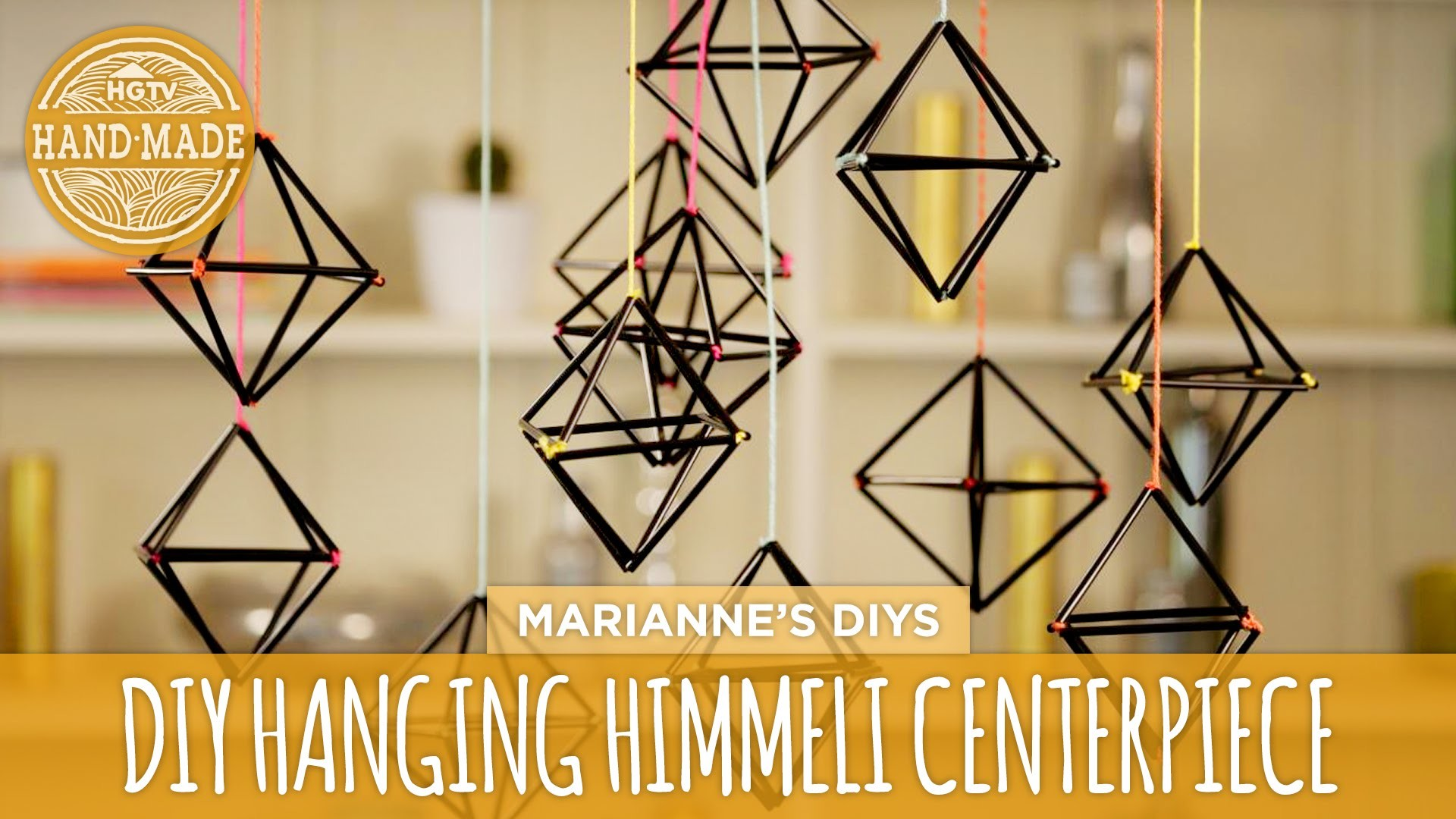 DIY Himmeli Centerpiece - HGTV Handmade