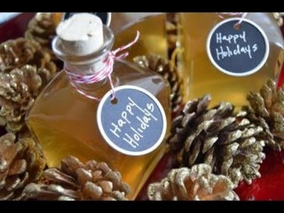DIY Holiday Gifts: Pineapple and Vanilla Infused Tequila