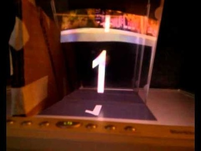"DIY i3DG gadget - a 3D ""hologram"" on any possible screen"