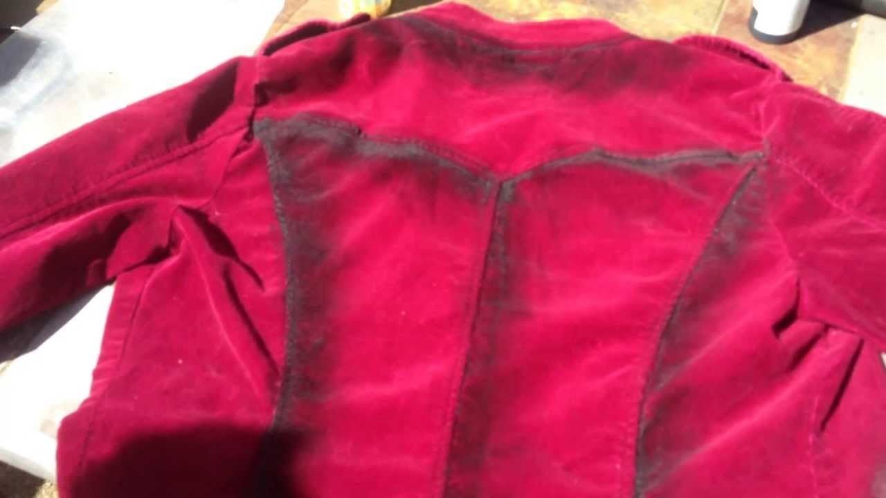 DIY - Painting Clothes To Make Them Look Old and Distressed