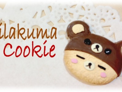 DIY Rilakkuma Cookie Clay Art Tutorial