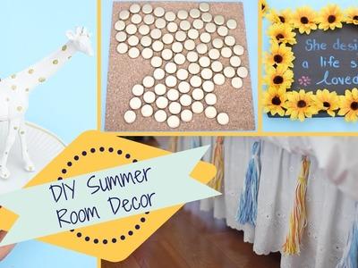 DIY Summer Room Decor Ideas | Easy & Inexpensive