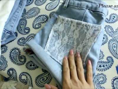 DIY| Summer Short Remakes Tutorial