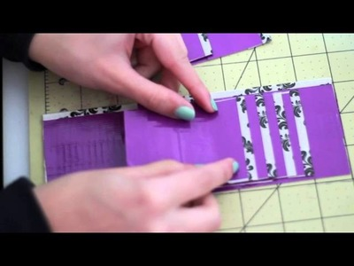 DIY: VERTICAL POCKETS ON A DUCT TAPE WALLET!