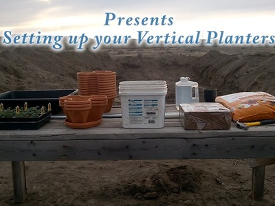 DIY Vertical Stacking Planters Tutorial