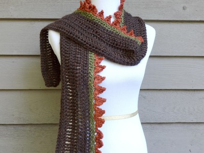 Episode 125: How To Crochet the Pumpkins on a Fence Scarf