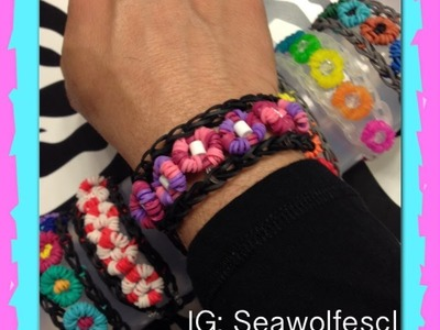 Eye Candy Bracelet On Rainbow Loom