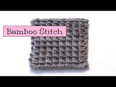 Fancy Stitch Combos - Bamboo Stitch