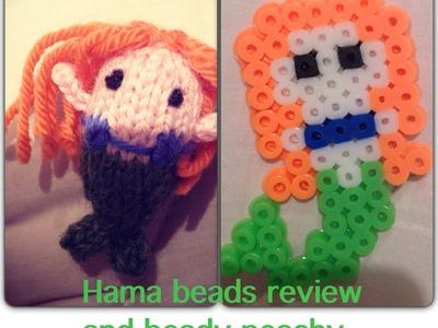 Hama. perler beads review