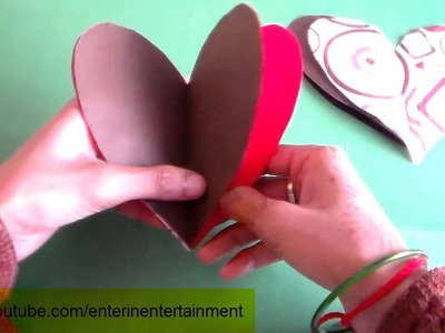 Heart Origami - Hanging Ornaments - How to Papercraft Origami