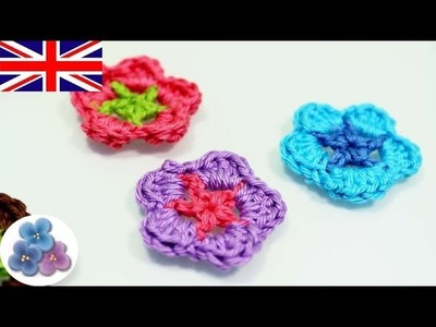 How to Crochet a Flower DIY Flowers Patterns Crochet Flowers Crocheting Mathie