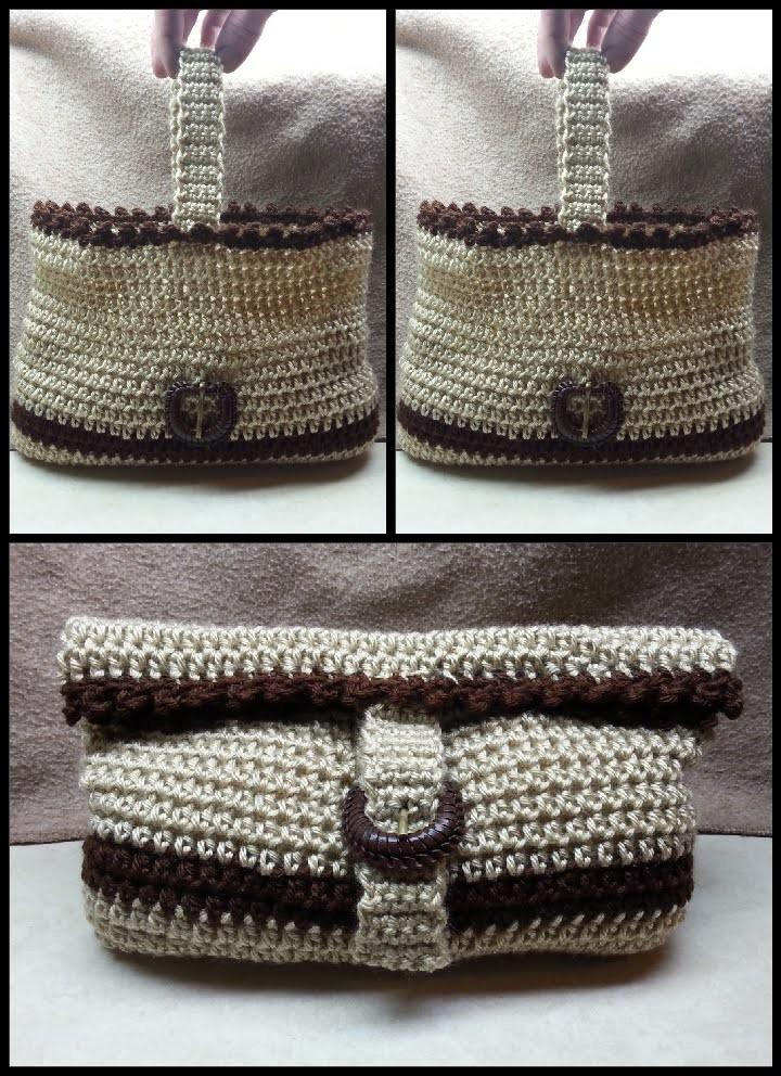 How To Crochet Easy Crochet Handbag Crochet Purse Beginner Tutorial