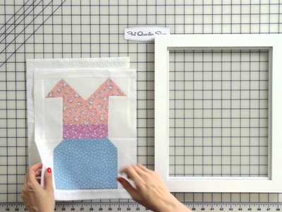 How to Frame a Quilt Block Easy DIY - Fat Quarter Shop