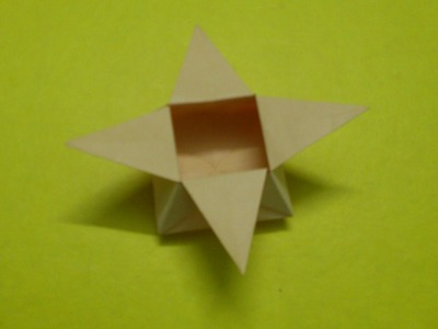 How to Make a Paper Star Box or Star Basket