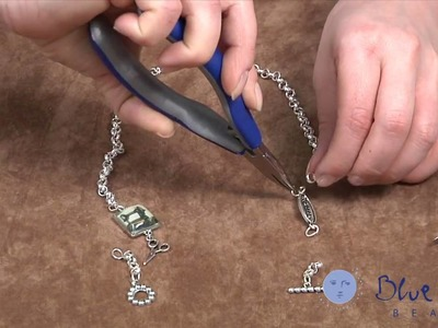 How to Make an Easy Convertible Charm Necklace. Bracelet