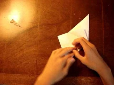 How to make an Easy Origami Crane - Instructions