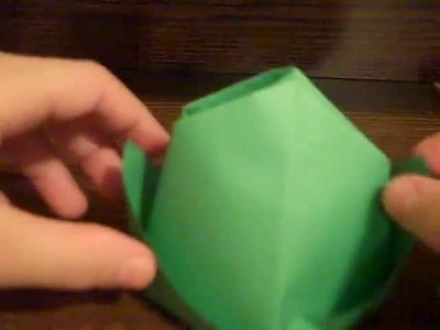 How To Make An Origami Leprechaun Hat