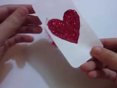 How to Make Handmade Gifts Valentine - Heart bumper Phone