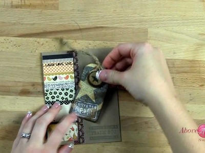 How To Recycle Clothing Tags to DIY Embellishments TNT Eps 004: AboveRubiesStudio