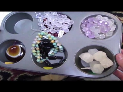 Kathy Getty, Bead Art Studio, Emeryville, CA, Trippin with Kev and Jess Whopper bead tray