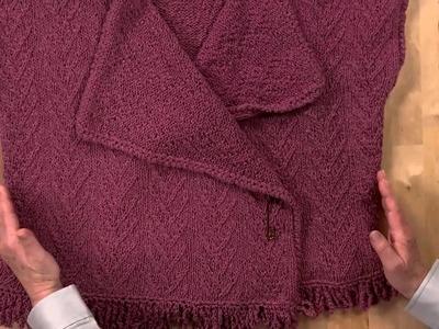 Knitting A Twig Stitch Pattern
